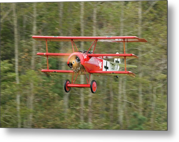 Fokker Dr.i Flyby Metal Print by Liza Eckardt