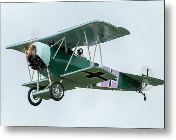 Fokker D.vi Overhead Metal Print by Liza Eckardt