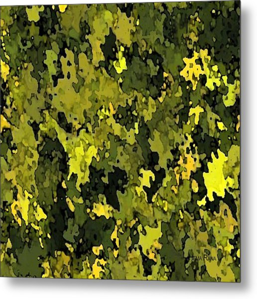 Foliage Metal Print by Hema Rana