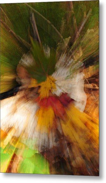Foliage Zoom Metal Print by Nancy Marshall