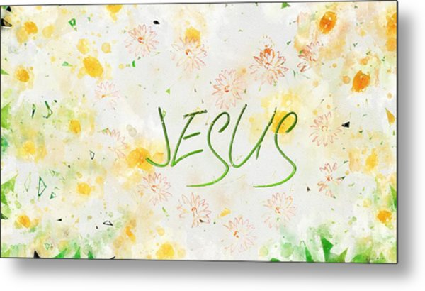 Follower Of Jesus Metal Print