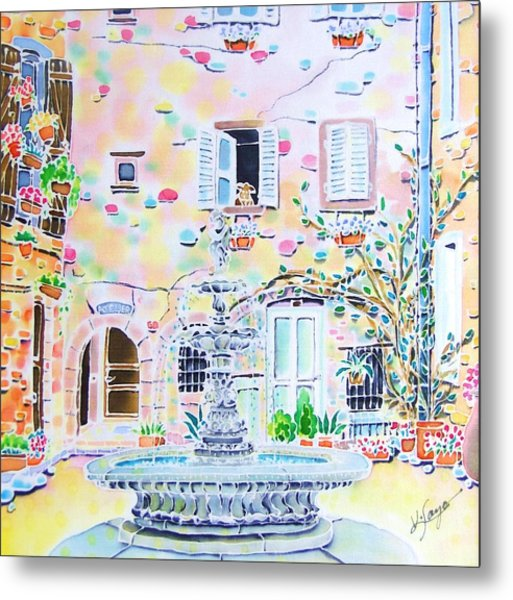Fontaine Metal Print