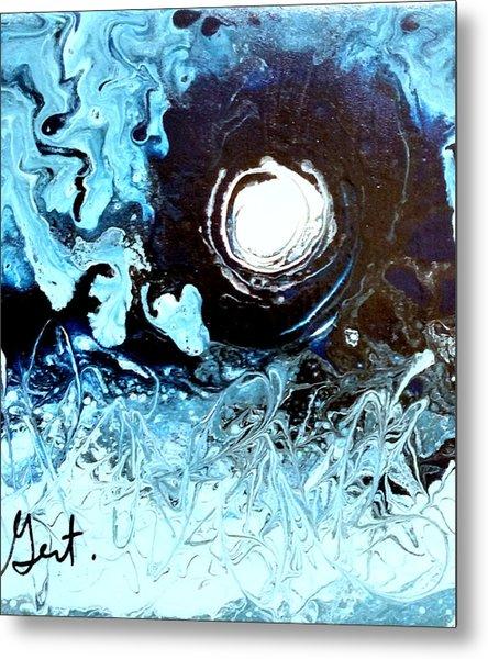 Fool Moon Metal Print