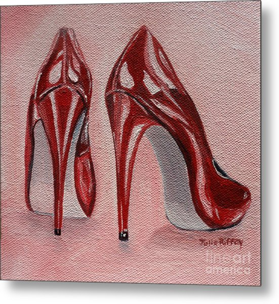 Foot Candy Metal Print