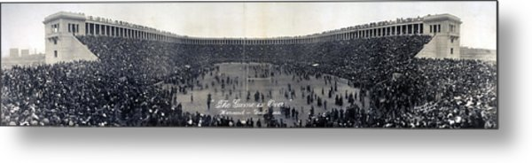 Football, The Game Is Over Panorama Metal Print