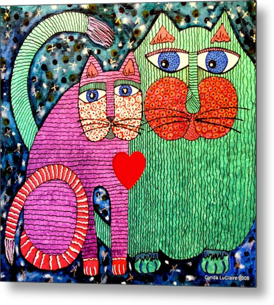 For All The Cats I Metal Print by Cynda LuClaire