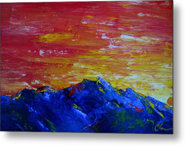 For Them The Sun Rises Metal Print by Cheryl Ehlers