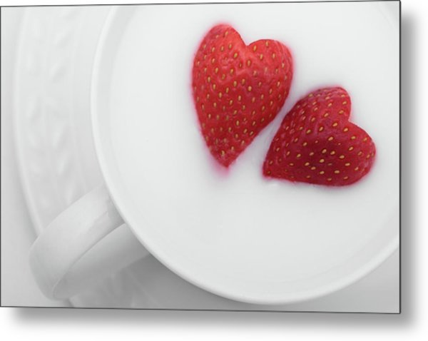 For Valentine's Day Metal Print
