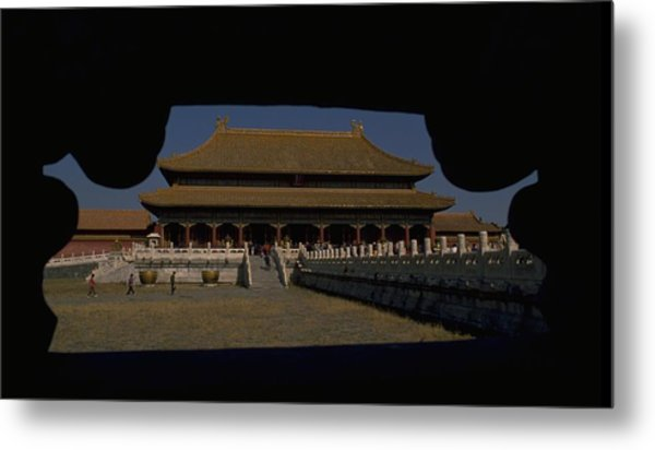 Forbidden City, Beijing Metal Print
