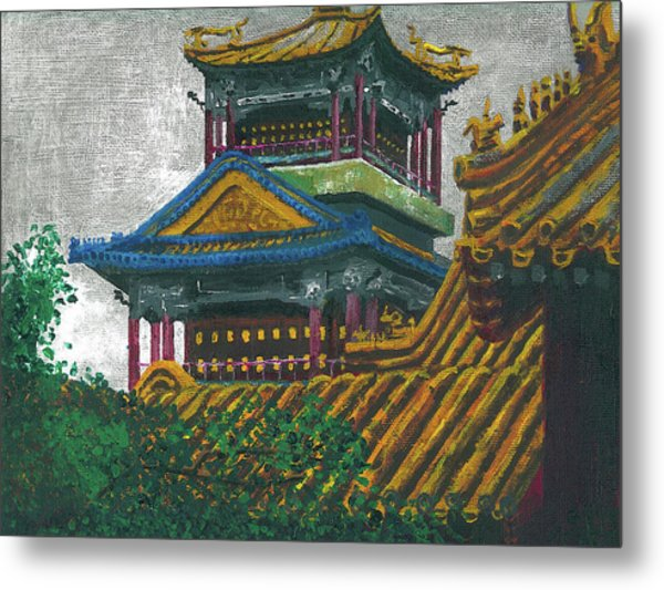 Forbidden City Metal Print