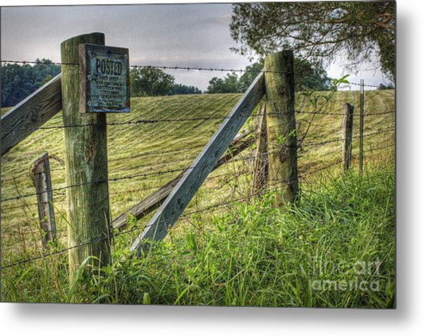 Forbidden View Metal Print