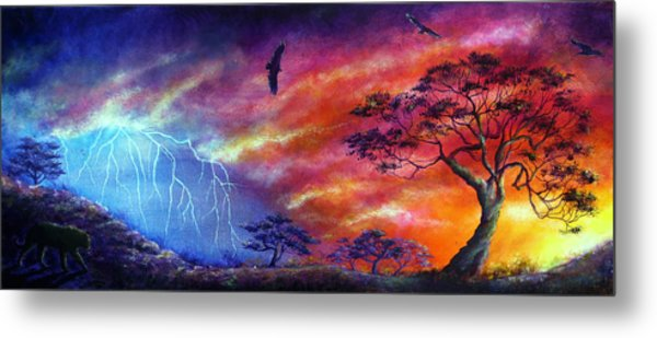 Force Of Nature Metal Print by Ann Marie Bone