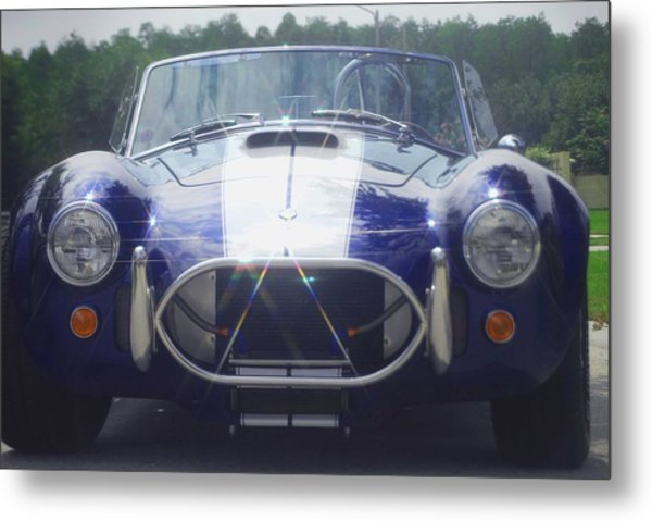 Ford Cobra Metal Print by Margaret Fortunato