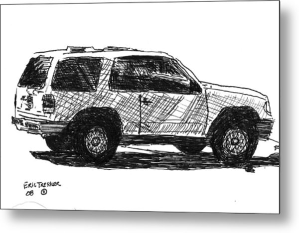Ford Explorer Metal Print