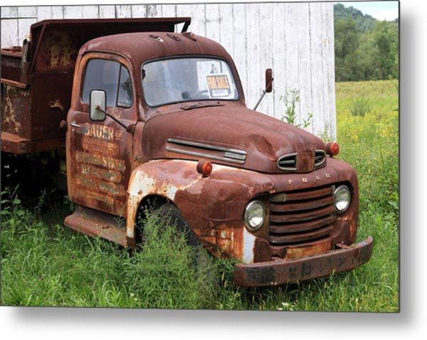 Ford F1 Metal Print by Dennis Morgan