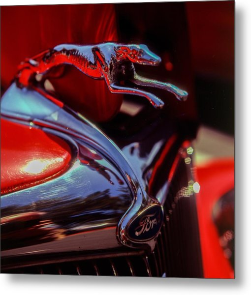Ford Greyhound Metal Print