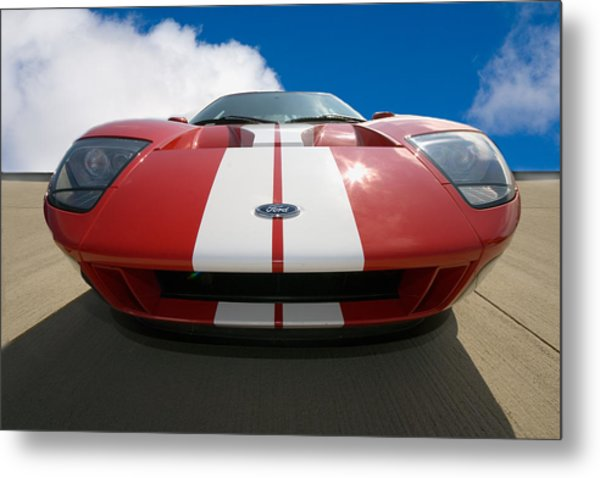 Ford Gt Metal Print by Peter Tellone