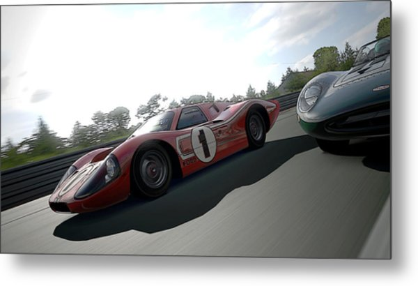 Ford Gt40 Mark Iv Metal Print