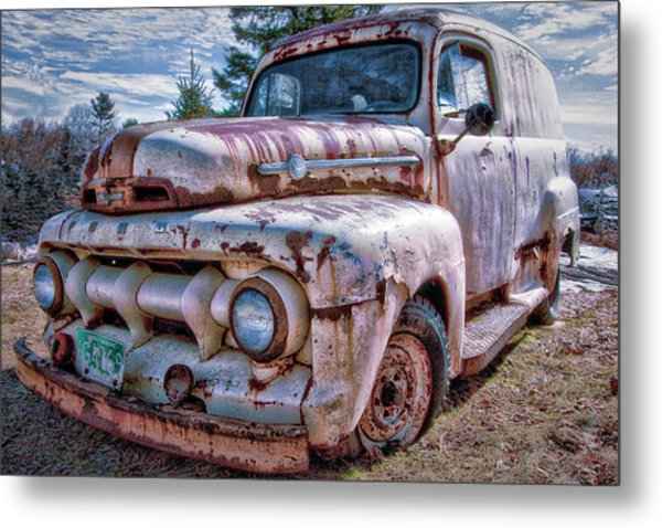 Ford Panel Truck Metal Print