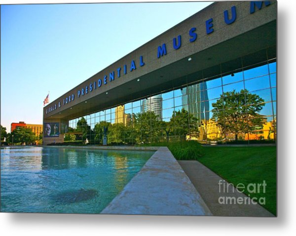 Ford Presidential Museum Metal Print by Robert Pearson