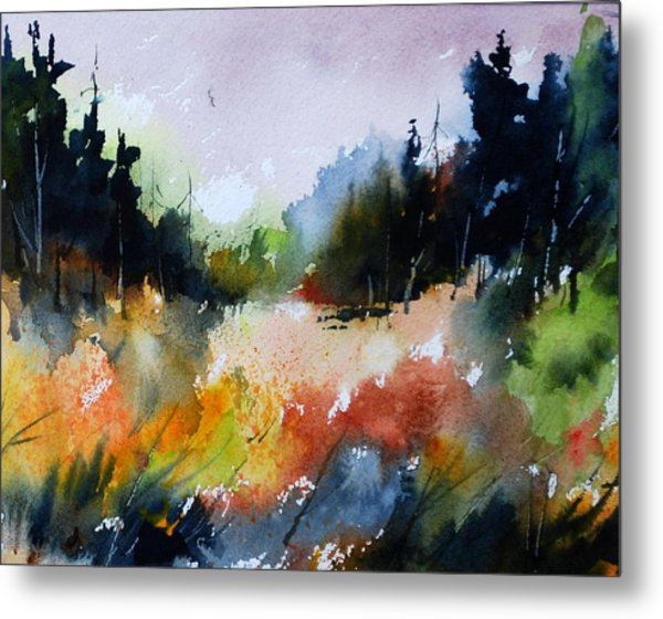 Forest Meadow Metal Print