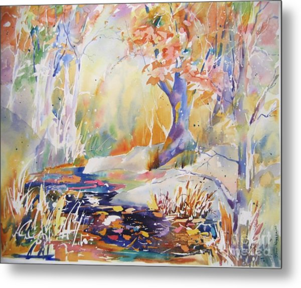 Forest Palette Metal Print