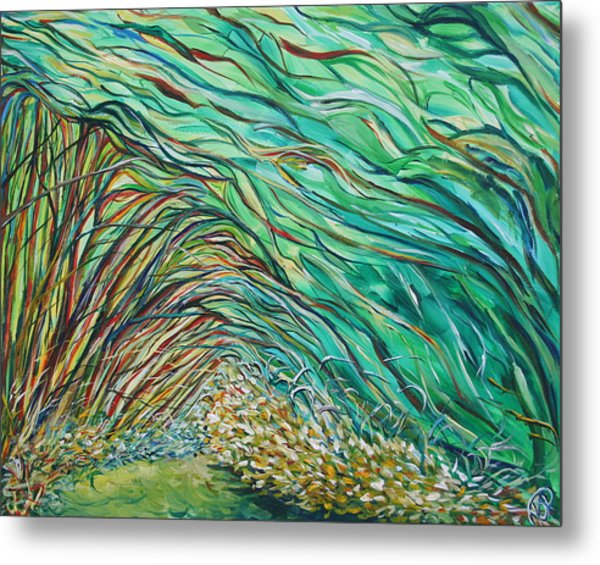 Forest Under The Sea Metal Print
