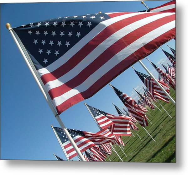Forever Flags Metal Print