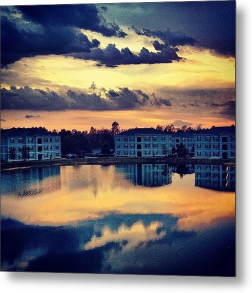 Forever Taking #sunset Pics Off This Metal Print