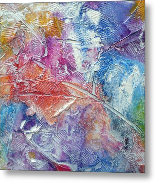 Metal Print featuring the painting Forgive Quickly by Tracy Bonin