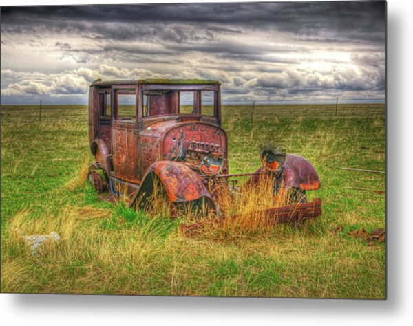 Forgotten By Time. Metal Print