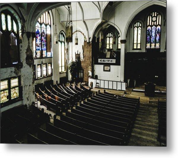 Forgotten Church Metal Print by Dylan Murphy