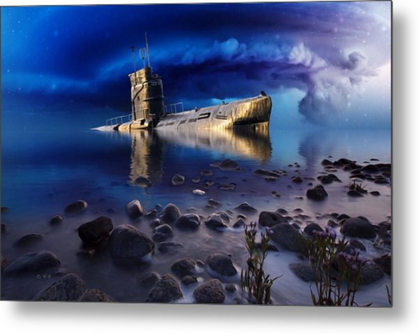 Forgotten In No Man's Land Metal Print