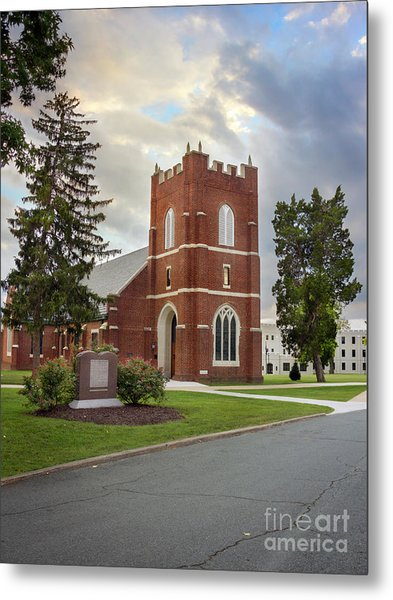 Fork Union Military Academy Wicker Chapel Sized For Blanket Metal Print