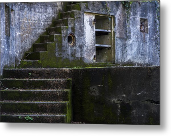 Fort Canby Metal Print