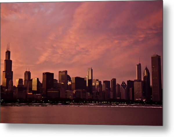 Fort Dearborn Metal Print
