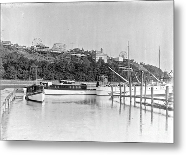 Fort George Amusement Park Metal Print