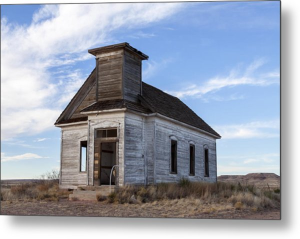 Fort Sumner - Abandoned Church Metal Print