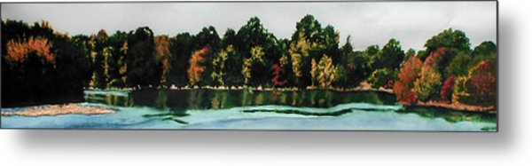Fort Toulouse Coosa River Metal Print by Beth Parrish