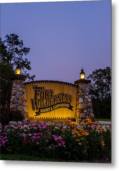 Fort Wilderness Resort And Campground Metal Print