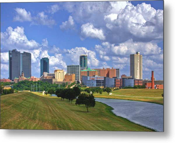 Fort Worth #1 Metal Print