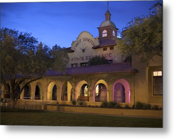 Fort Worth Livestock Exchange Metal Print