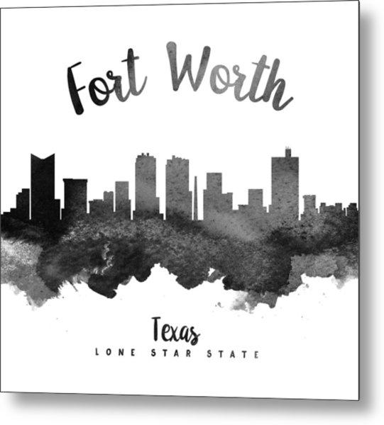 Fort Worth Texas Skyline 18 Metal Print
