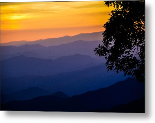 Fortuitous Sunset Metal Print