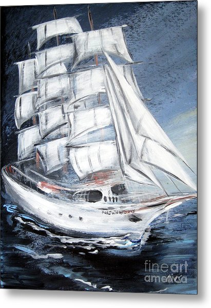Fortunate. Sailing Ship Metal Print