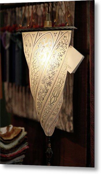 Fortuny Lamp Metal Print