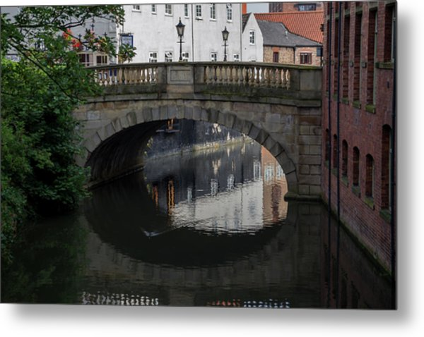 Foss Bridge - York Metal Print