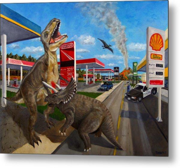 Fossil Fuel Metal Print