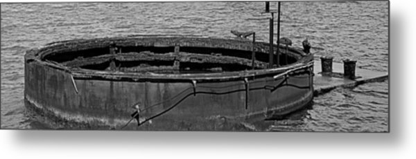 Foundation For No 3 Gun Turret Metal Print