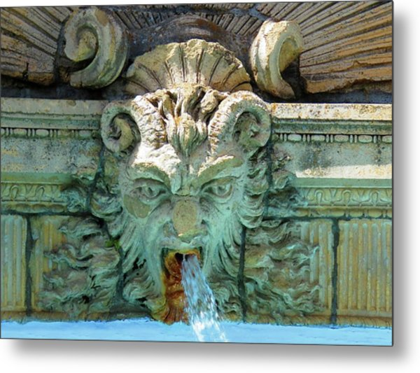 The Fountain Metal Print